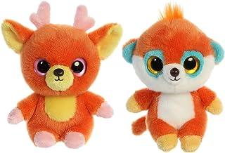 "Aurora YooHoo & Friends Plush Bundle - 5"" Pookee & 5"" Jolley"
