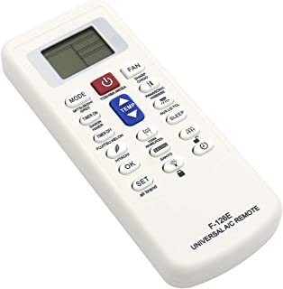 Baomain Plastic Shell Universal Lcd Display Air Conditioner A/C Remote Control