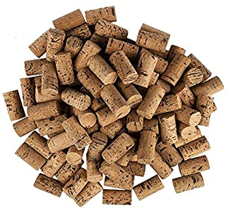 Lot de 100 bouchons à vin en forme de cœur pour les loisirs créatifs - En liège naturel - 4,5 cm de long - Diamètre 2,4 cm...