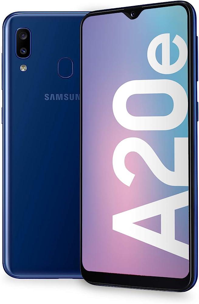 Samsung galaxy a20e smartphone 32 gb espandibili SM-A202FZBDITV