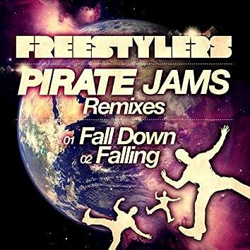 Fall Down / Falling (Pirate Jams Remixes)