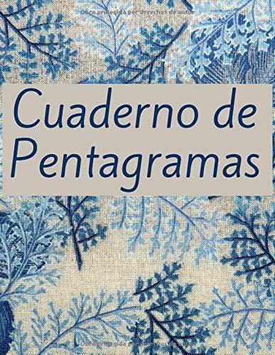 Cuaderno de Pentagramas: Diario para Músicos Tamaño Grande