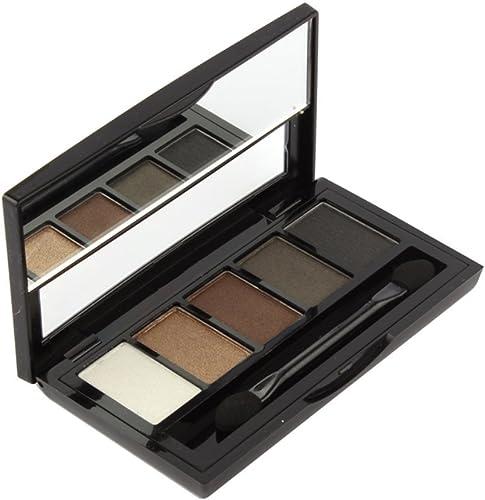 2021 Mallofusa 5 Colors Mineral Eye Shadow sale Palette Eyeshadow online sale Powder Makeup Kit (#4) online