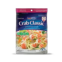Trans-Ocean Products, Crab Classic Chunk, 8 oz