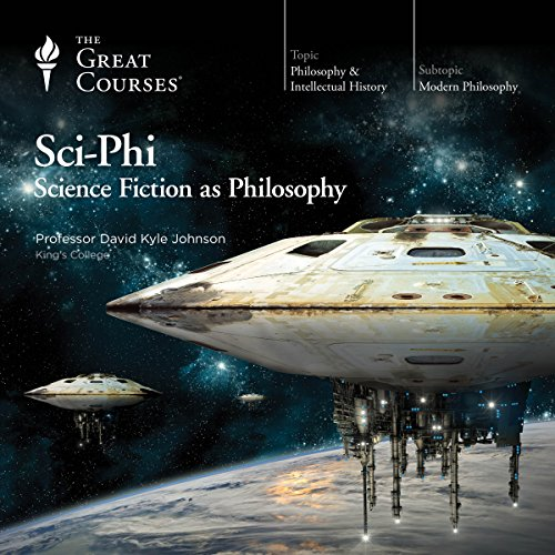 『Sci-Phi: Science Fiction as Philosophy』のカバーアート