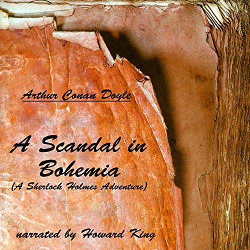 A Scandal in Bohemia audiobook cover art
