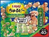 いなば 犬用おやつ ちゅるビ~ お腹の健康配慮バラエティ 10グラム (x 40)