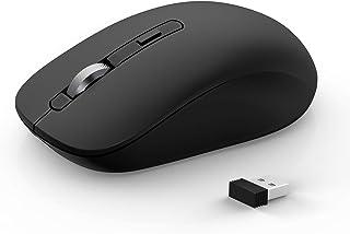 Bluetooth Mouse, JOYACCESS Wireless Mouse Support 3 Devices (Bluetooth 3.0 + Bluetooth 5.0 + USB) 2.4GHz Wireless Bluetoot...