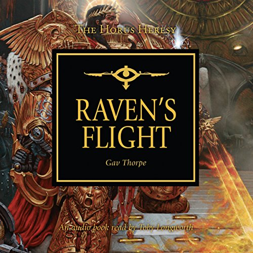 Raven's Flight audiobook cover art