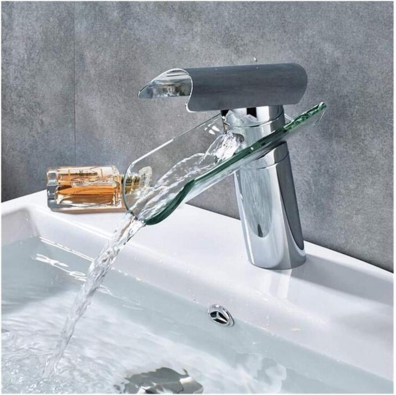 Kitchen Bath Basin Sink Bathroom Taps Faucet Washbasin Mixer Chrome Bronze Solid Brass Waterfall Bathroom Basin Ctzl1115