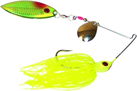 Spinnerbait Head New Other 3//16 Oz Size 2//0 10 Count Chart w//Black//Red Eye
