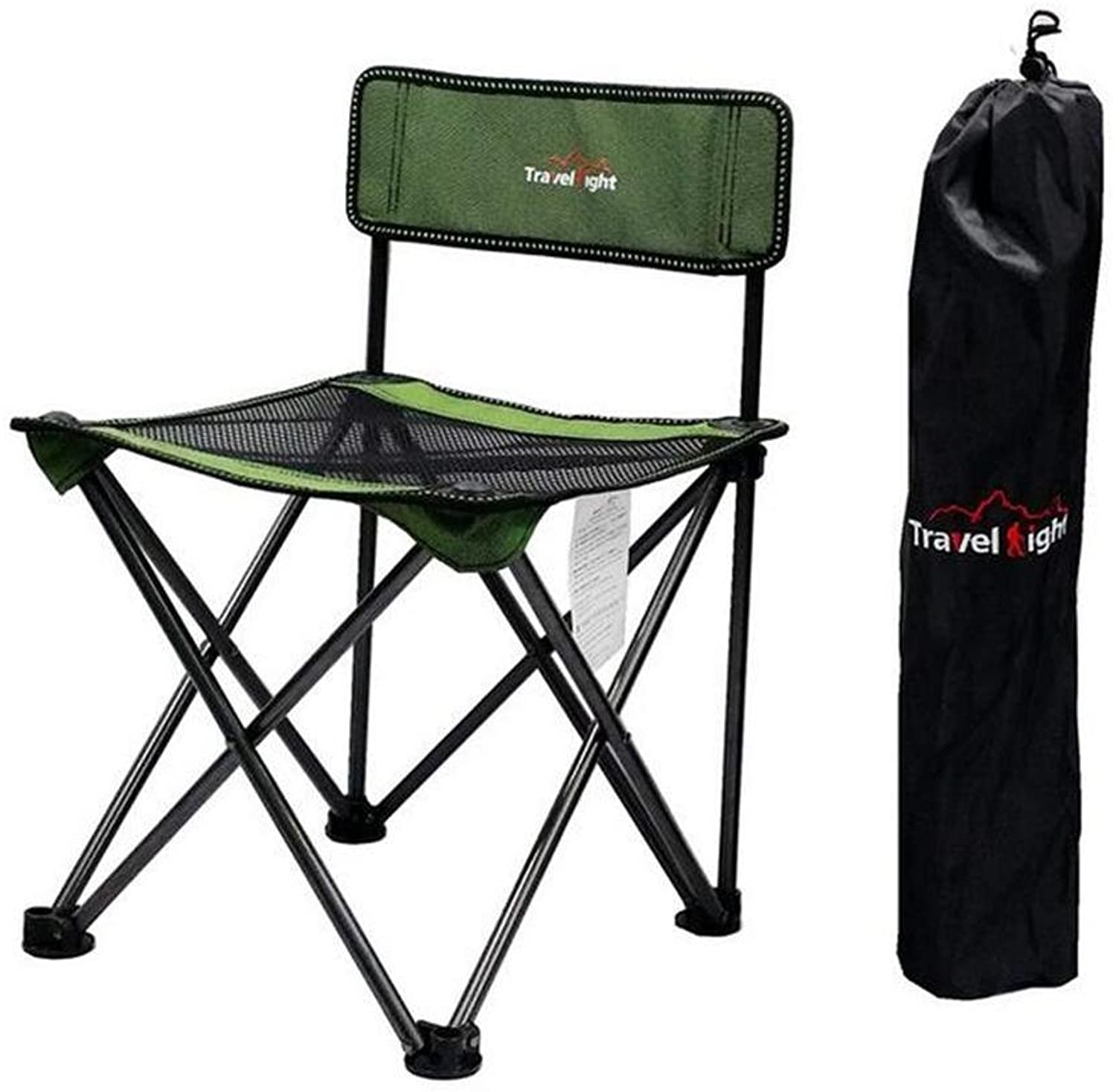 TTYY Outdoor Folding Chair Moon Chair Fishing Camping Beach Outdoor Leisure Picnic