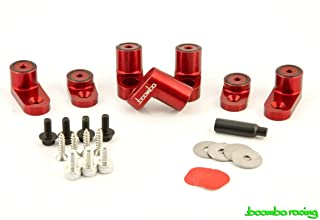 Boomba Racing WING RISER KIT RED for 2013+ Ford Focus ST