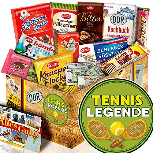 Tennislegende - Schokolade aus dem Osten - Tennis Geschenk für Frauen