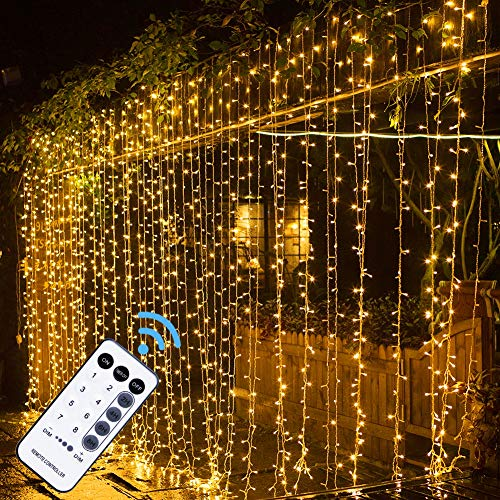 MAGGIFT 304 LED Curtain String Lights
