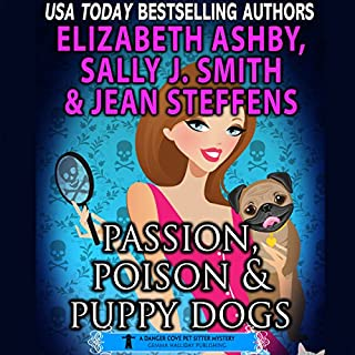 Passion, Poison & Puppy Dogs audiobook cover art