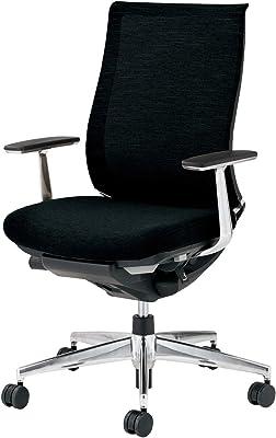 コクヨ ベゼル イス オフィスチェア ブラック モデレートタイプ デスクチェア 事務椅子 ハイエンドモデル CR-A2841E6GNE6-V 【ラクラク納品サービス】