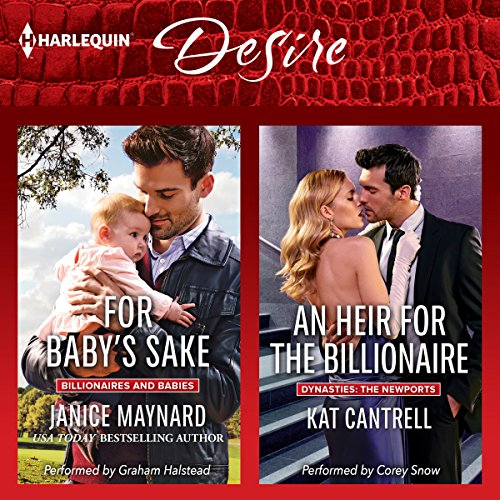 For Baby's Sake & An Heir for the Billionaire audiobook cover art