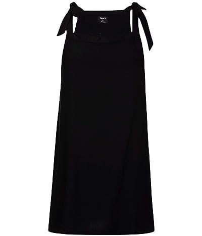 Hurley Woven Tie Dress (Black) Women