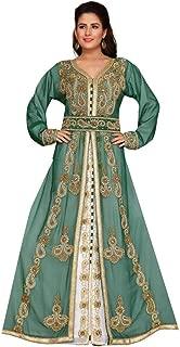 Arabic attire Women's Designer Wedding Abaya with Allover Work