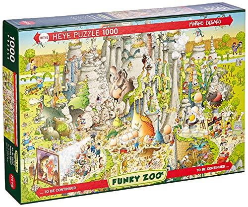 HEYE 1000 Puzzle Funky ZOO Jurassic Habitat