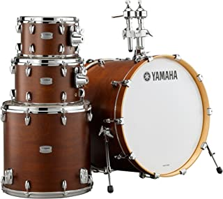 Yamaha Tour Custom Maple 4pc Standard Shell Pack, Chocolate Satin
