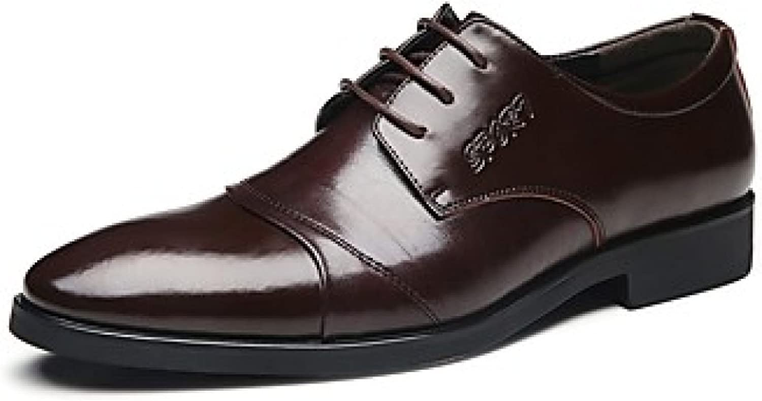 Men's Oxfords Business Style Big Size Office Career Casual