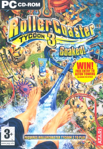Rollercoaster Tycoon 3: Soaked! Expansion Pack (PC CD) [Edizione: Regno Unito]