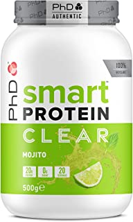 PhD Nutrition Smart Potein Clear, Mojito, 500 g
