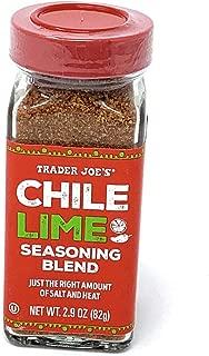 Trader Joe's Chile Lime Seasoning Blend 2.9 Oz.