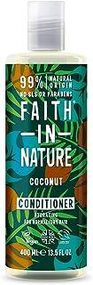 comprar comparacion Faith in Nature Acondicionador Natural de Coco, Hidratante, Vegano y No Testado en Animales, sin Parabenos ni SLS, para Ca...