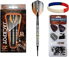 TARGET Pro-Player 80% Adrian Lewis 2ba Soft Tip Darts - 20g 80% Tungsten Barrels Plus Soft Tip Accessory Kit & Bracelet