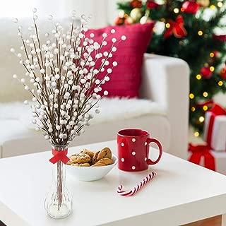 white christmas floral arrangements