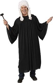 Rubie's Complete Judge Costume | Robe, Wig, Gavel, Black, S