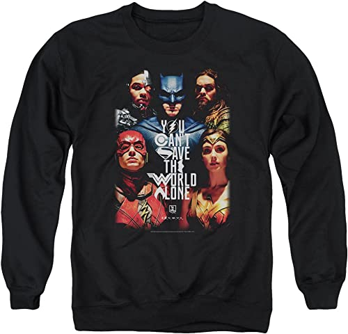 Justice League Movie - - Pull d'affiches Save The World pour Homme