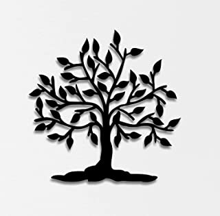 WALLCENTRE ART BEYOND IMAGINATION Metal Tree of Life Without Frame Wall Art - Hanging Showpiece for Living Room, Decorativ...