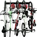 Wallmaster 5 Bicycles Hooks Wall Mount Bike Hanger