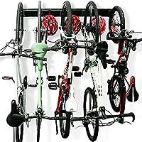Wallmaster 5 Bicycles Hooks Wall Mount Bike Hanger