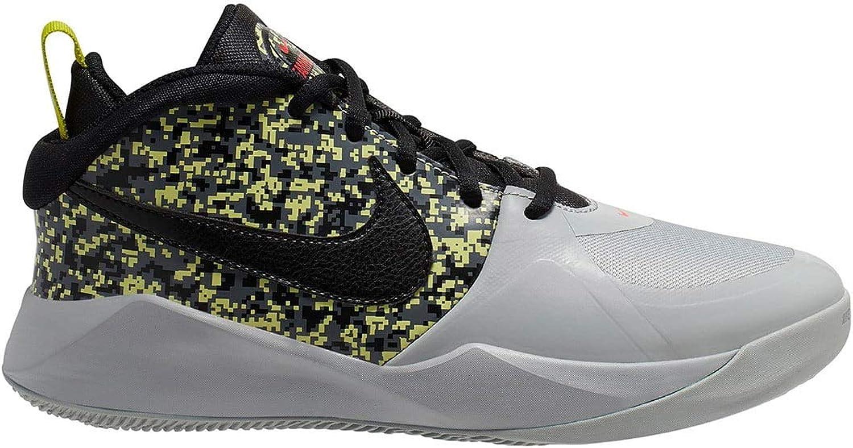 Nike Team Hustle D 9 DIGI (GS) Kids Sneaker CD7025 001 Size