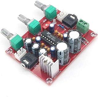 Taidacent XH-M151 Digital Tuning Preamp Tone Board Tube Mic Preamp Audio Processor Preamplifier XR1075 Digital Preamplifier