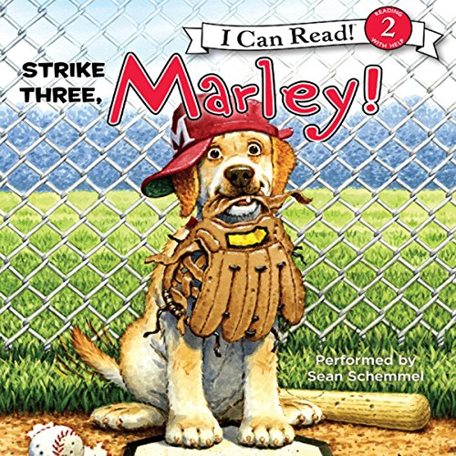 Marley: Strike Three, Marley! audiobook cover art