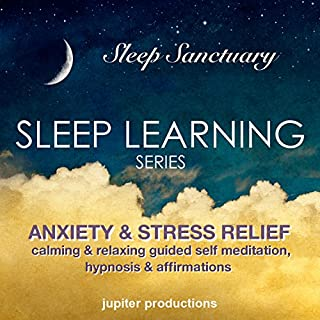 Anxiety & Stress Relief Sleep-Learning cover art