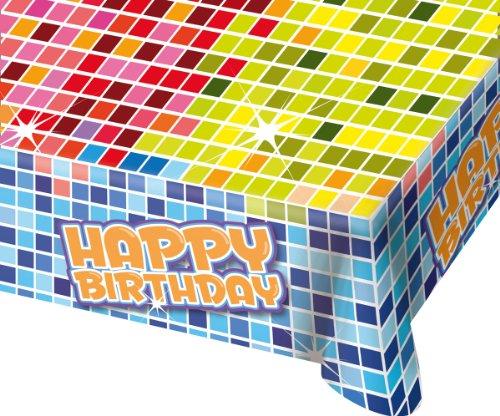 falksson - 380183 - Tischdecke - Happy Crazy Birthday - 180 X 130 Cm