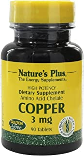 Natures Plus - Copper 3 Mg. 90 Tablets 65823