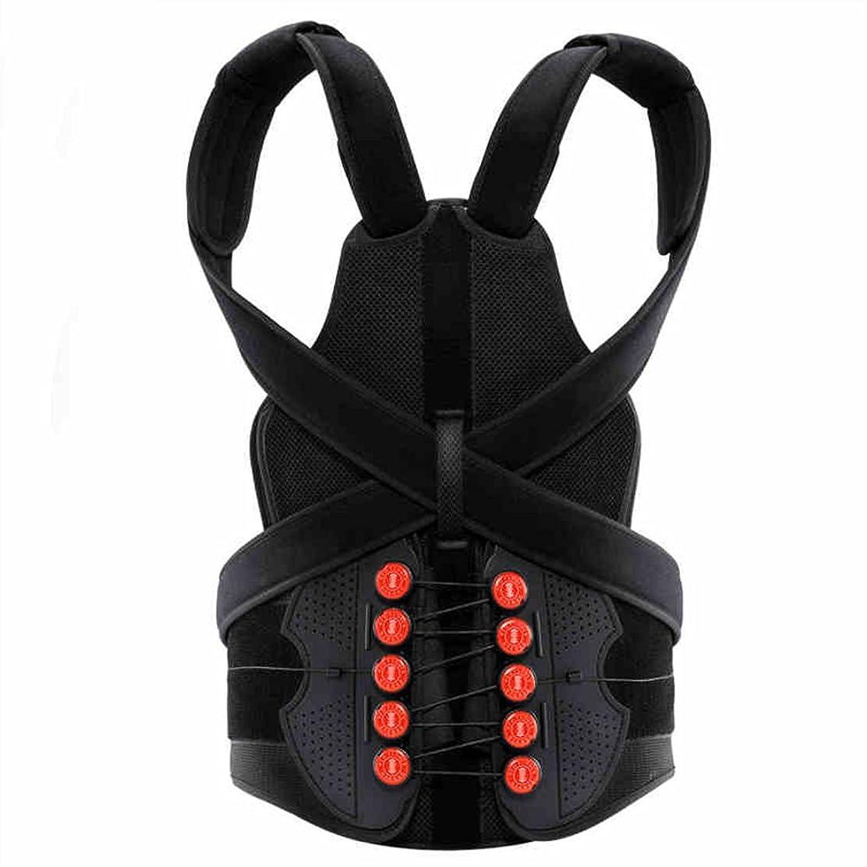 服料理荒野HAIZHEN マッサージチェア 股関節矯正ベルト脊柱矯正装置背部ストラップ腰椎腰椎バンド(大人用) (サイズ さいず : S s)
