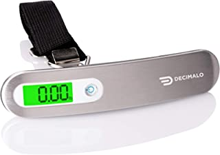 DECIMALO Digital Luggage Scale, Handheld suitcase weight...