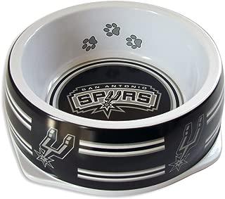 Sporty K9 NBA San Antonio Spurs Pet Bowl, Large by Sporty K9