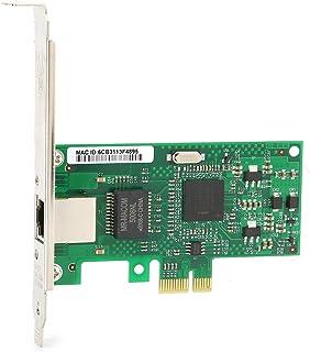 PCI‑Eギガビットネットワークカード、10/100/1000Mbps高速外部デスクトップコンピュータアクセサリ2 ‑インジケータ‑ライト