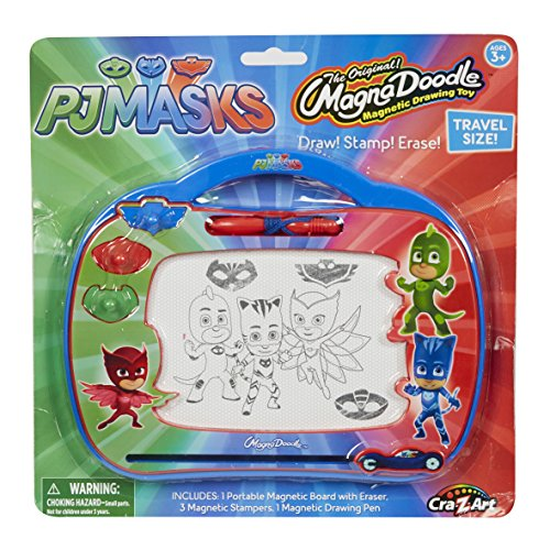 Cra-Z-Art PJ Masks Travel Magnadoodle Toy
