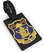 3rd Battalion 15th Infantry Regiment PVC Travel Bag ID Labels